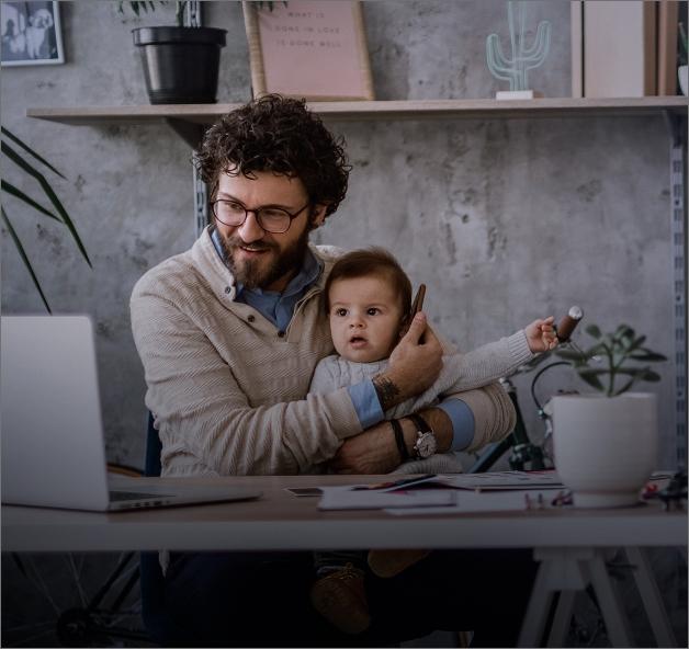 Imagem House - pai e filho